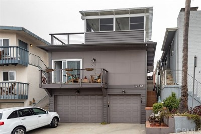 Manhattan Beach Multi Family Home For Sale: 3604 Alma