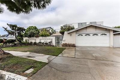 Harbor City Single Family Home For Sale: 23705 Kippen Street
