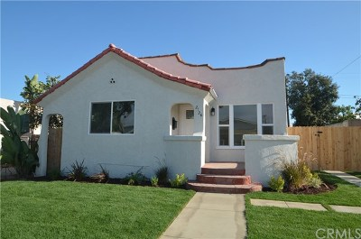 Lomita Single Family Home For Sale: 2126 247th Street