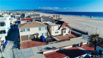 Hermosa Beach Single Family Home For Sale: 16 23rd (Strand) Street