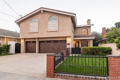 Lomita Single Family Home For Sale: 25517 Pennsylvania Avenue