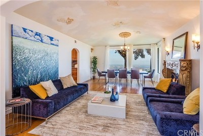 Rancho Palos Verdes Single Family Home For Sale: 3158 Crownview Drive