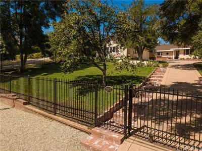 Tarzana Single Family Home For Sale: 5093 Vanalden Avenue
