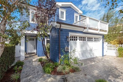 Manhattan Beach Single Family Home For Sale: 3201 Pine Avenue