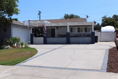 Fullerton Single Family Home For Sale: 2536 Balfour Avenue