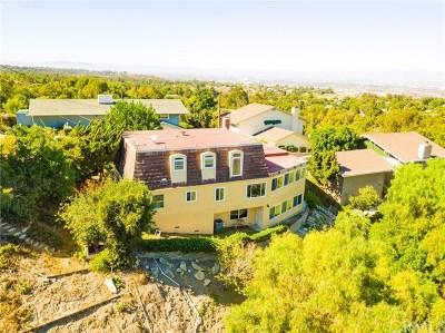 Rancho Palos Verdes Single Family Home For Sale: 53 Cayuse Lane