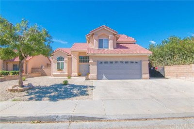 Lancaster, Palmdale, Quartz Hill Single Family Home For Sale: 43409 8th Street E