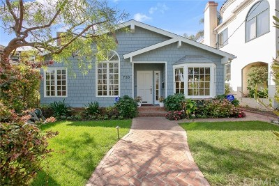 Manhattan Beach Single Family Home For Sale: 720 36th Street