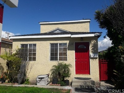 Culver City Single Family Home For Sale: 4862 Inglewood Boulevard