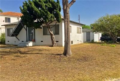 Redondo Beach Single Family Home For Sale: 2400 Burritt Avenue