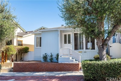 Manhattan Beach Single Family Home For Sale: 420 3rd Street