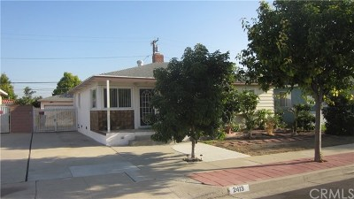 Single Family Home For Sale: 2413 W 180th Street Street
