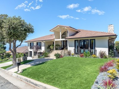 Rancho Palos Verdes Single Family Home For Sale: 7137 Avenida Altisima