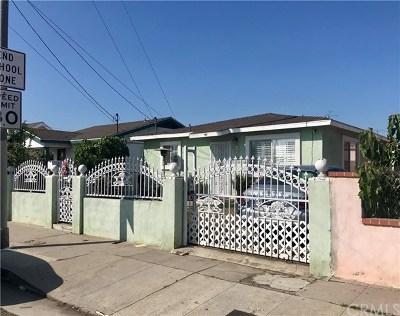 Wilmington Single Family Home For Sale: 1039 Blinn Avenue