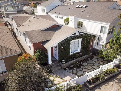 Manhattan Beach Single Family Home For Sale: 528 Marine Avenue