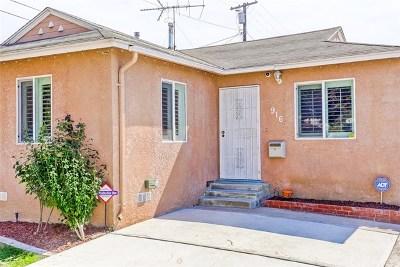 Torrance Single Family Home For Sale: 916 Belson Street