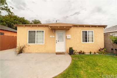 Torrance Single Family Home For Sale: 1151 Fiat Street