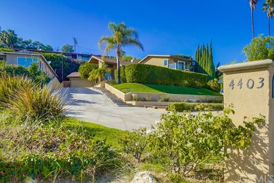Rancho Palos Verdes Single Family Home For Sale: 4403 Miraleste Drive