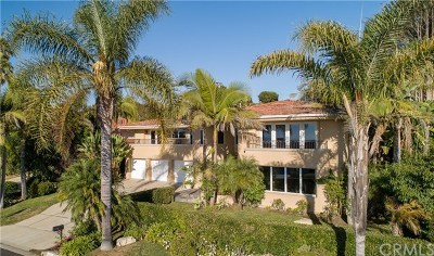 Palos Verdes Estates, Palos Verdes Peninsula Single Family Home For Sale: 1500 Via Asturias
