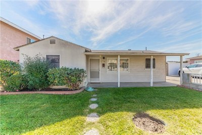 Torrance Single Family Home Active Under Contract: 1056 W 228th Street