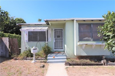 Redondo Beach Single Family Home For Sale: 1007 S Prospect Avenue