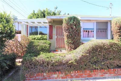 Redondo Beach Single Family Home For Sale: 1011 S Prospect Avenue