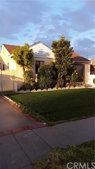 Gardena Single Family Home For Sale: 3213 W 153rd Street