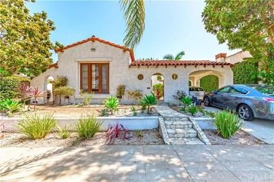 Long Beach Single Family Home For Sale: 3626 Orange Avenue