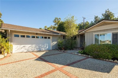 Rancho Palos Verdes Single Family Home For Sale: 5762 Ironwood Street