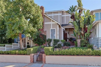 Manhattan Beach Single Family Home For Sale: 754 35th Street