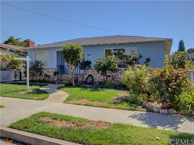 Lomita Single Family Home For Sale: 1812 260th Street