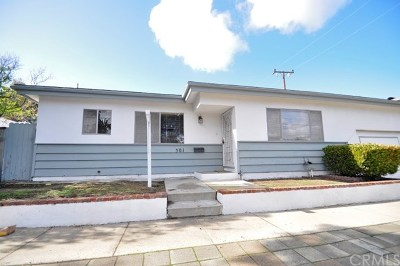 El Segundo Single Family Home For Sale: 301 Center Street