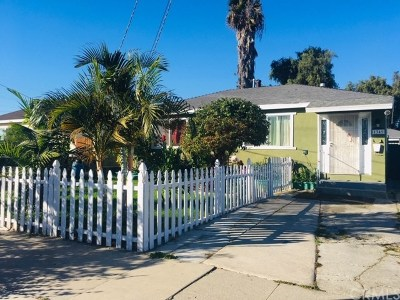 Torrance Single Family Home For Sale: 1349 W 218th Street