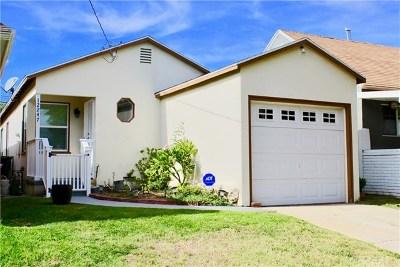 Hawthorne Single Family Home For Sale: 12247 Cedar Avenue