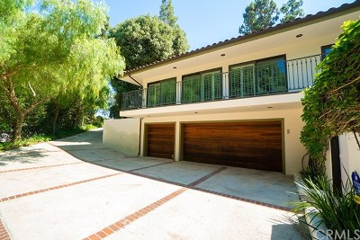 Los Angeles County Single Family Home For Sale: 1420 Via Mateo