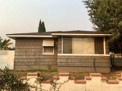Wilmington Single Family Home For Sale: 1437 W Anaheim Street