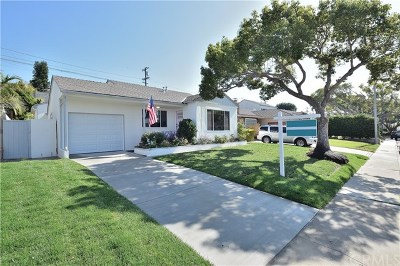 Torrance Single Family Home Active Under Contract: 22634 Crosshill Avenue
