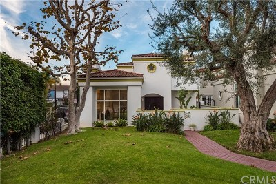 Manhattan Beach Single Family Home For Sale: 1 Arbolado Court