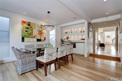 Manhattan Beach Single Family Home For Sale: 593 27th Street