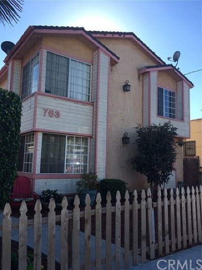San Pedro Multi Family Home For Sale: 763 W 17th Street W