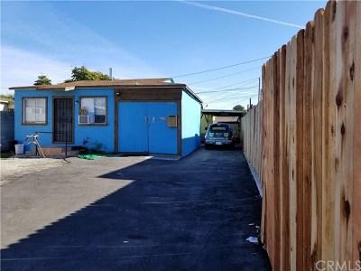 Inglewood Multi Family Home For Sale: 11142 S Prairie Avenue