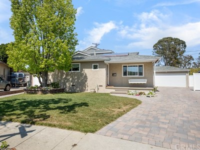 Redondo Beach Single Family Home Active Under Contract: 1010 Firmona Avenue