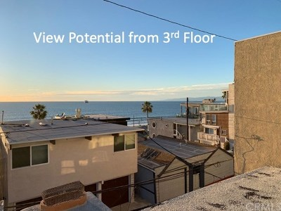 Manhattan Beach Single Family Home Active Under Contract: 4314 Ocean Drive