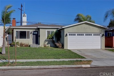 Torrance CA Single Family Home For Sale: $949,000