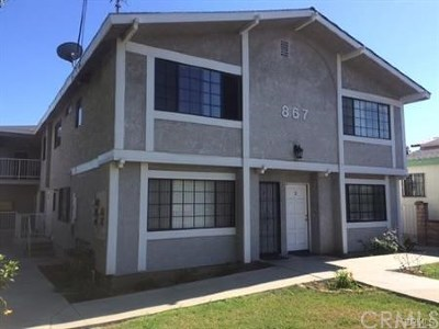 San Pedro Multi Family Home For Sale: 867 W 1st Street