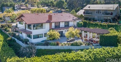 Los Angeles County Single Family Home For Sale: 24855 Via Valmonte