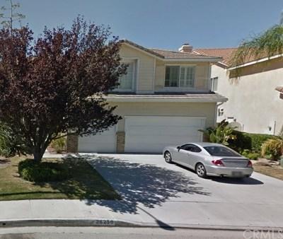 Single Family Home For Sale: 26250 Beecher Lane
