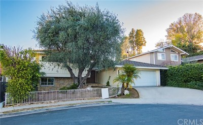 Rancho Palos Verdes Single Family Home For Sale: 2140 W Toscanini Drive