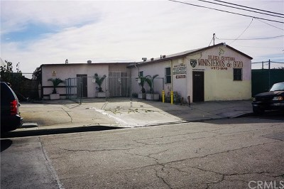 Hawthorne Commercial For Sale: 3642 W 139th Street