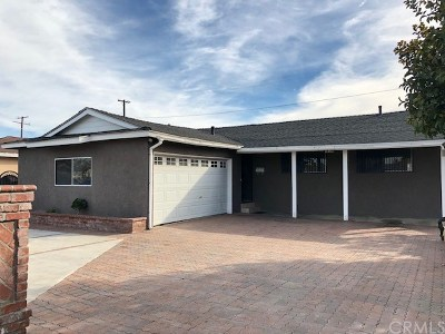 Carson Single Family Home Active Under Contract: 114 W 226th Street
